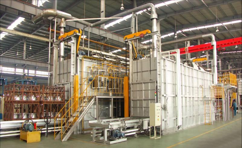 连续式铝合金热处理炉