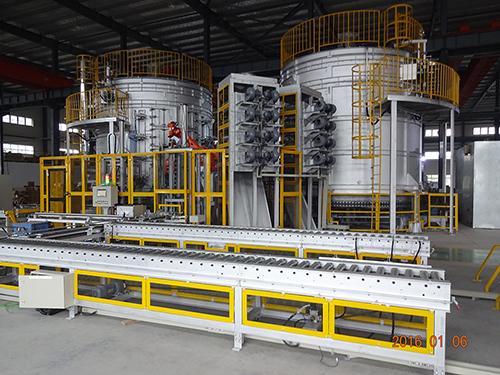回转式无料筐铝合金热处理炉
