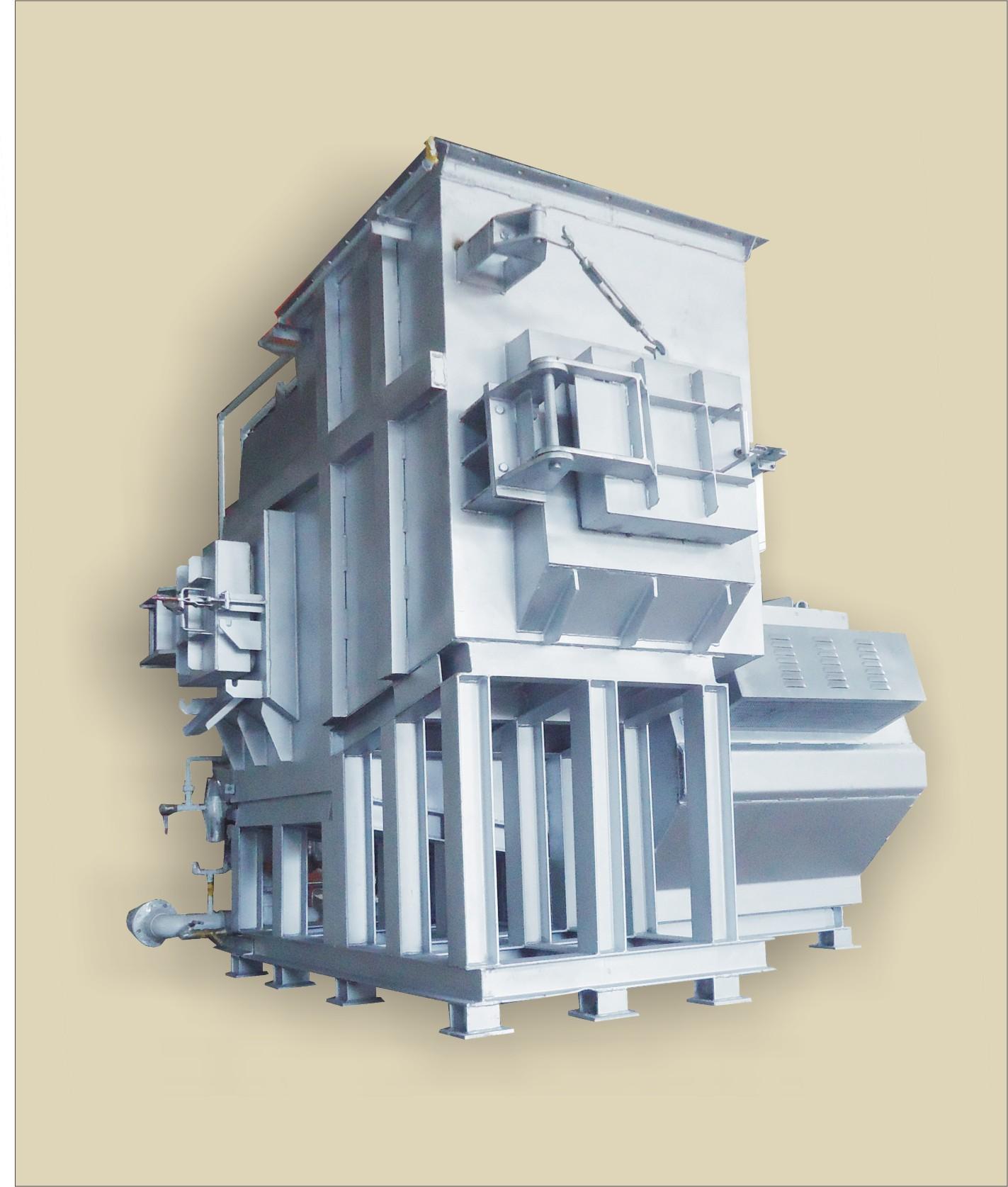 连续式铝合金熔解兼保持炉(SMK-S型)