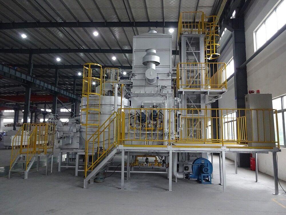 连续式铝合金集中熔解炉(STM型)