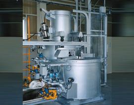 坩埚式铝合金连续熔解兼保持炉(MK型)