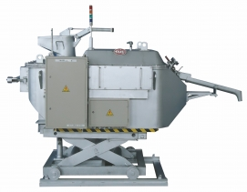气压式铝合金保温定量炉(SQK型)